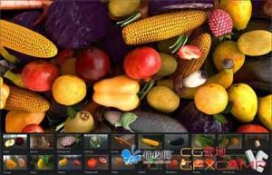 水果蔬菜E3D模型