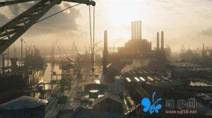 码头工厂场景3D模型 (Maya/Max/FBX/OBJ)