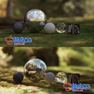 360/720度全景VRay keyshot 3dmax C4D HDR室内外环境天球照明贴图素材库