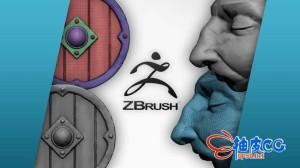 ZBRUSH数字雕刻建模人物角色3D模型视频教程