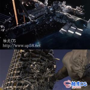 Houdini科幻影视建筑破坏倒塌特效制作大师级全流程视频教程