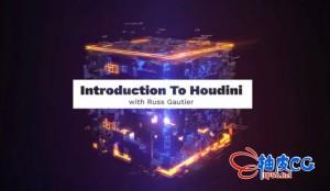 GreyscaleGorilla(灰猩猩)Houdini基础入门介绍视频教程
