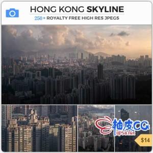 史诗般香港城市平面设计高清图片素材