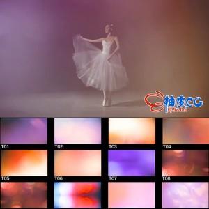 140组高清耀斑闪光漏光光效镜头转场过渡视频素材
