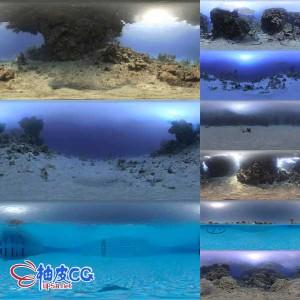海底世界超清HDR环境照明贴图素材