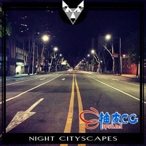 夜晚清晨城市车啸鸟鸣交通氛围高品质无损音效素材