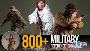 800张二战狙击手坦克手战士战斗姿势高清图片素材