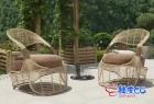 3DSMAX / C4D / VRay竹藤编制休闲椅吊椅躺椅家具精细3D模型