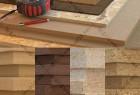 人造木材刨花板纤维板材质高清贴图素材