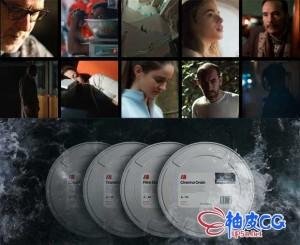 超120种高品质电影胶片烧灼颗粒噪点损坏4K高清叠加视频素材