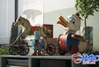 3DSMAX / C4D / VRay复古居家玩具电器精细3D模型