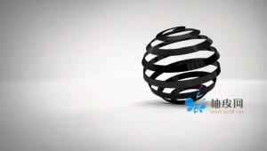 在C4D中创建抽象小球剥皮线条教程