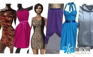Marvelous Designer服装设计预设与材质贴图合辑