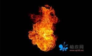 25组高清火焰形态图片-平面设计PSD素材免费下载