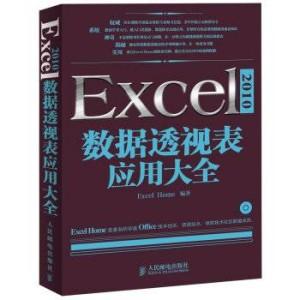 Excel 2010数据透视表应用大全免费下载