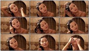美女沐浴高清视频素材