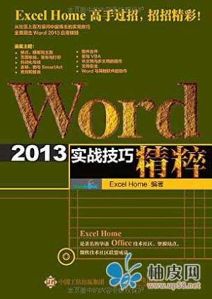 《Word 2013实战技巧精粹》