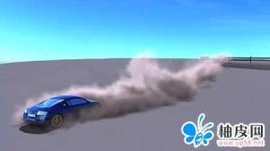 在maya中创建汽车疾驰扬起尘土的教程