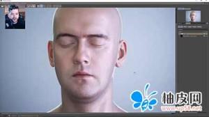 Octane for C4D人类皮肤材质渲染视频教程