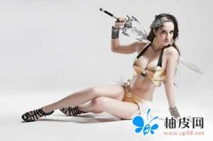 女性角色pose3D建模参照