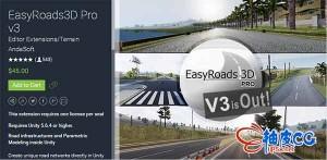 Unity3D EasyRoads3D Pro v3 3.1.4 快速创建道路公路插件