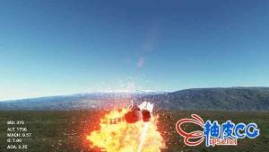 UE4 UnrealEngine4 虚幻4 EasyFlightModel 战斗机飞机飞行插件