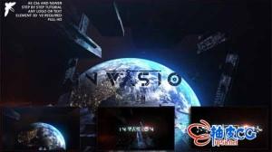 AE模板 宇宙太空大气组件组合标识logo展示Epic Space Logo