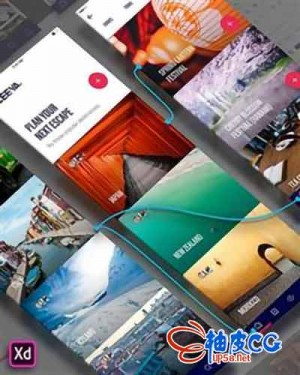 产品交互原型设计制作工具 Adobe XD CC v18.2.12 x64中文/英文/多语言直装版
