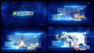 AE模板-企业产品项目数字化高科技宣传片