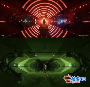 MODO视频教程 大师级制作宇宙飞船科幻内部场景