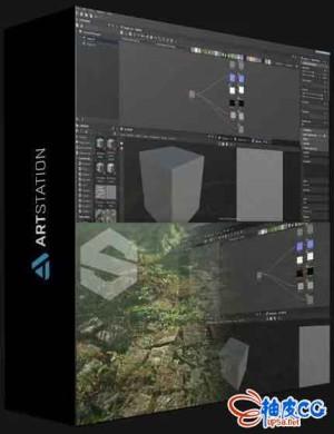 专业材质贴图软件Substance Designer入门学习基础视频教程