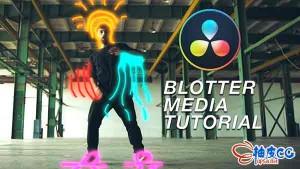DaVinci Resolve视频教程 达芬奇制作霓虹涂鸦效果