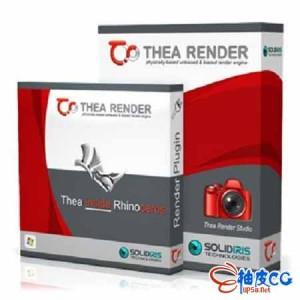 Thea Render v2.2.110.1860-GPU实时物理渲染器插件 for Rhino