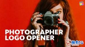FCPX插件 优雅快速的摄影师徽标LOGO动画视频 Photographer Logo