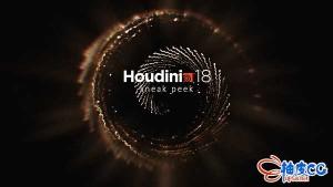 电影特效三维软件 SideFX Houdini FX V18.0.287 / 18.0.597替换破解版