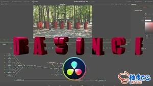 DaVinci Resolve与Blender制作3D标题动画视频教程