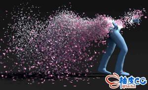 Houdini物理粒子特效模拟实例视频教程