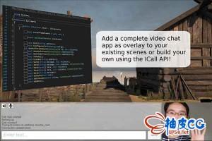 Unity插件WebRTC Video Chat视频聊天 V0.9843