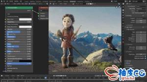 三维建模动画制作Blender 2.82a x64中文/英文版 Win版