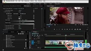 Premiere动作场景编辑技术Pr视频教程