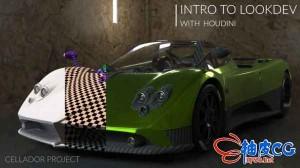 Houdini资源高效管理核心技术学习视频教程