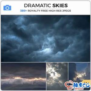 380+张暴风雨和天空平面设计高清素材