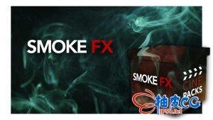 15高清烟雾飘散喷发特效叠加视频素材(含Alpha透明通道)
