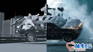 AE + 3dsmax和PFTrack合成好莱坞视觉特效视频教程