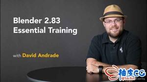 Blender 2.83初学基础入门学习培训视频教程