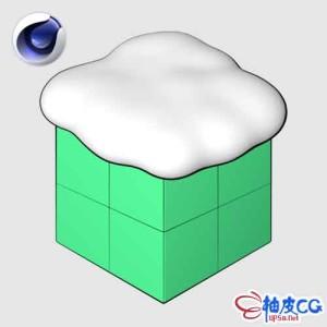 C4D模拟下雪插件 Snowgen 1.0 for Cinema 4D R15-S22