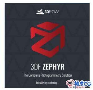 照片转换为3D模型软件3DF Zephyr v5.000 / 3DF Zephyr v5.006 / 3DF Zephyr 5.007 x64多语言破解版