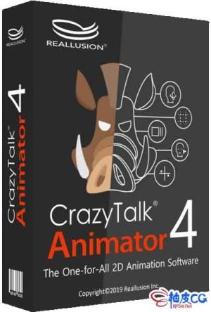 2D动画制作软件Reallusion Cartoon Animator 4.21.1908.1 / 4.4.2408.1 / 4.41.2431.1 x64破解版 + 资源包