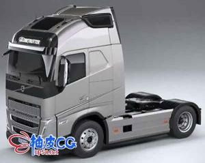 3DSMAX / C4D / MAYA 沃尔沃FH 16 2020重型车辆的3D模型