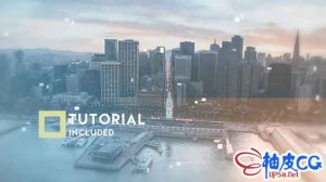 AE模板 现代商业公司电影级介绍说明视频 Cinematic Slideshow